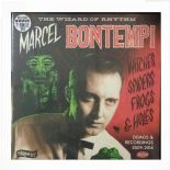 "LP + 7"" - ✬✬ MARCEL BONTEMPI ✬✬ "" Witches Spiders Frogs & Holes"""